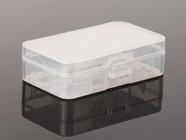 Aufbewahrungsbox für 2x 18650 Akkus