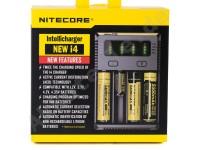 Nitecore NEW i4 Ladegerät 4 Schacht Intellicharger