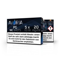 Avoria Basis Shot 10 ml  20 mg/ml 5 Stück