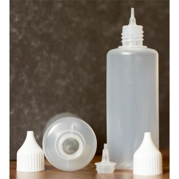 Liquidflasche 100 ml PE weich